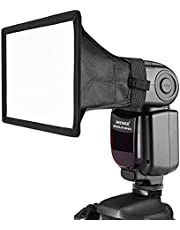 Neewer 5.9 x 4.9 inches/15 x 12.5 Centimeters Translucent Softbox for Canon Nikon and Other DSLR Cameras Flashes,Neewer TT560 TT850 TT860 NW561 NW670 VK750II Flashes