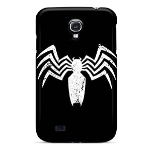 Fashion Dlc1200Sewr Case Cover For Galaxy S4(venom Logo)