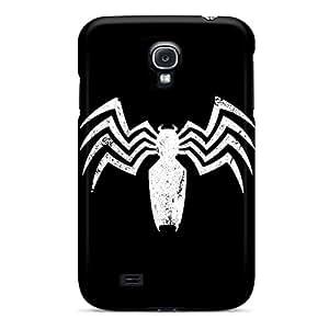Shockproof Hard Phone Covers For Samsung Galaxy S4 (qSu13180EFya) Support Personal Customs Attractive Venom Logo Skin