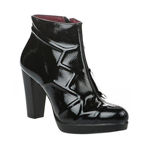 Femme Noir Verni Miller Boots Patricia pxAwCpqT