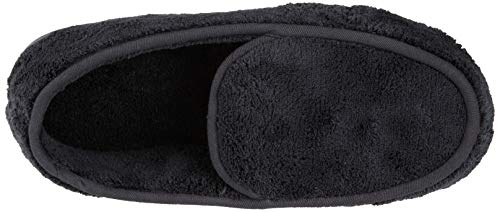 Pictures of ISOTONER Men's Microterry Slip On Slipper A95019BLKLG 2