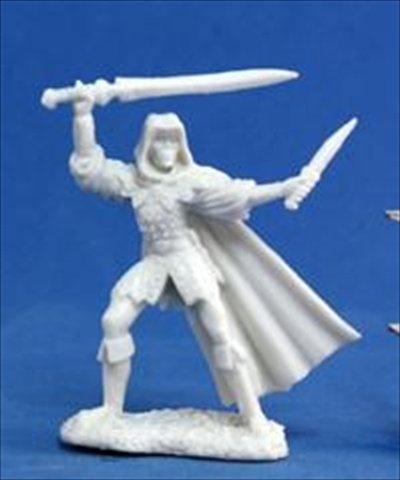 Reaper Miniatures 77030 Bones - Danar Male Assassin