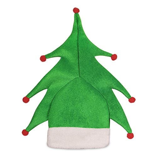 Holiday Christmas Tree Hat for Adults and