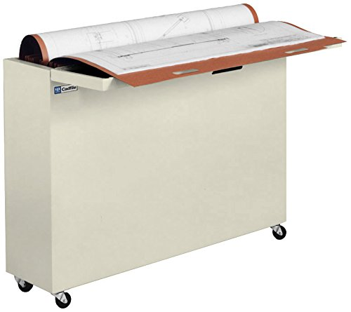 Ulrich Planfiling PF500-P Cubicle Sized File Cabinet For Large Documents in Cadfile, 24″ x 36″, Putty