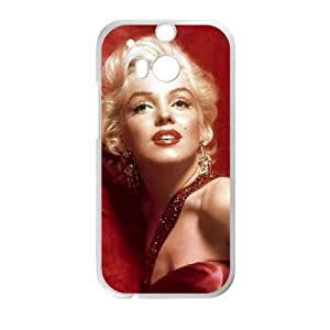 HTC One M8 Cell Phone Case White Marilyn Monroe 005 SYj_829227