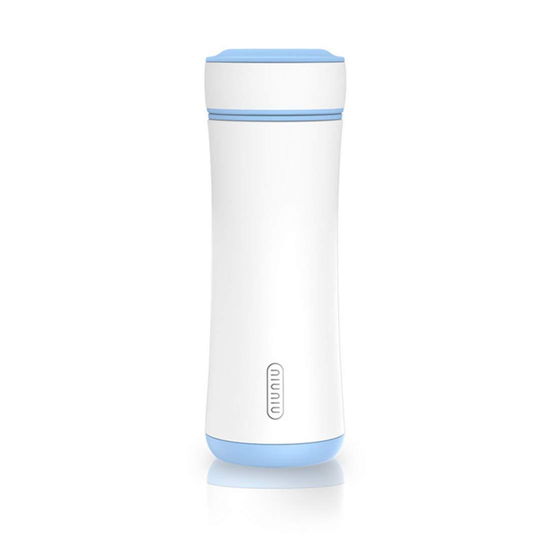 JOYIYUAN Edelstahl-Wasserflasche, Blau) vakuumisolierte auslaufsichere Reiseflasche-300ml (Farbe   Blau) Edelstahl-Wasserflasche, 7793cc