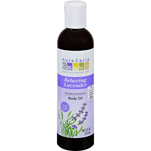 - Aura Cacia Lavender Harvest Aromatherapy Body and Massage Oil, 8 Ounce - 3 per case.