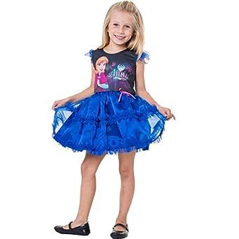 6bd7c6e2bb543f Fantasia Anna Frozen Infantil Pop Princesa Disney: Amazon.com.br ...