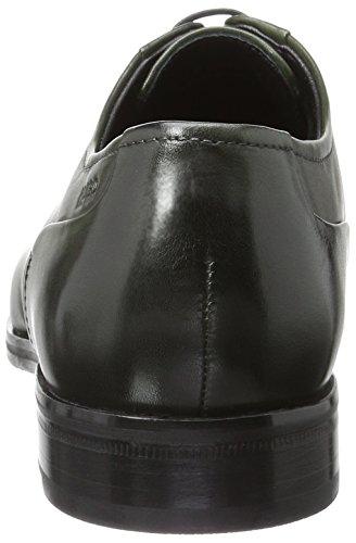 Hugo Tempt_derb_ctlt 10195370 01, Zapatos de Cordones Derby para Hombre Verde (Dark Green 301)