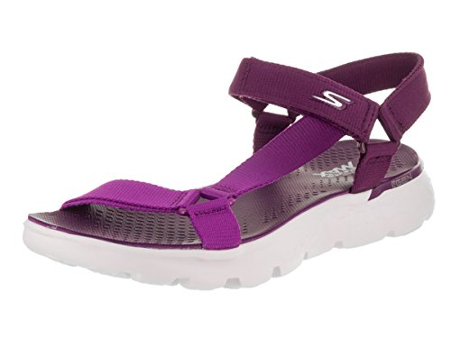 Skechers 14677 Women's On The GO 400 - Jazzy Sandal, Purple - 10
