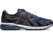 ASICS Men's GT-2000 8 Running Shoes, 9M, Grand Shark/Black