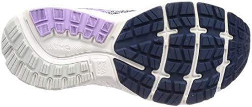 b7a6b115c49 Brooks Women s Ghost 11 Navy Grey Purple Rose Running Shoes-5 UK . Loading  images.