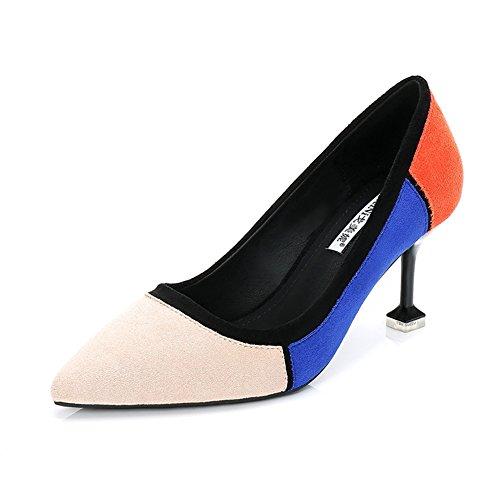 Vestir Zapatos de Beige de Mujer Ante Welldone2018 wvPxpdgqqE