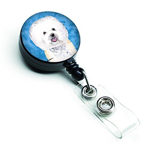 (Caroline's Treasures Sussex Spaniel Retractable Badge Reel or ID Holder with Clip, Multicolor (SC9135BU-BR))