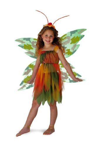 Amber Woodland Fairy Costume - Child Costume - Large (10-12)