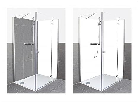 Artland Ducha baño Posterior Pared Revestimiento de Aluminio ...