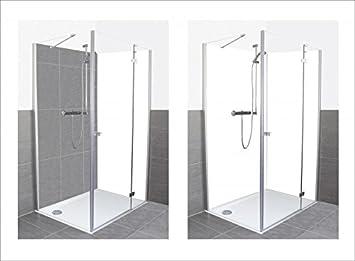 Artland Dusche Bad Rückwand Wandverkleidung aus Aluminium Verbund ...