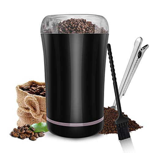 M-MASTER Electric Coffee Grinder,Coffee Bean Grinder with Stainless Steel Blade,Noiseless Operation,Powerful Electric…