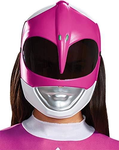 (Disguise Adult Power Ranger Pink Ranger Movie Theme Party Halloween)