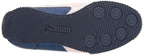 PUMA Girls Whirlwind Glitz V Kids Sneaker, sargasso Sea-Pearl, 8 M US Toddler