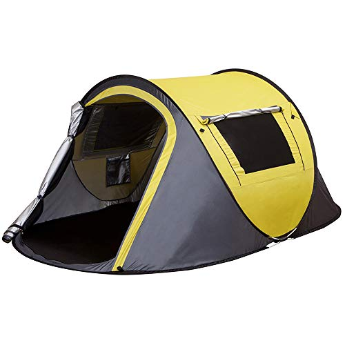 XINQIU 2-Person Pop-Up Tent (Yellow)