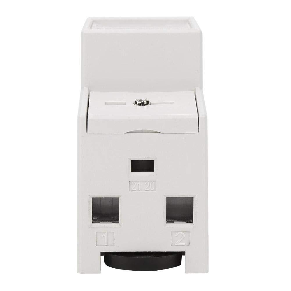 20 80 A medidor de energ/ía el/éctrica monof/ásico de 220 V Medidor electr/ónico de 2 hilos 2P KWh Medidor el/éctrico de riel DIN