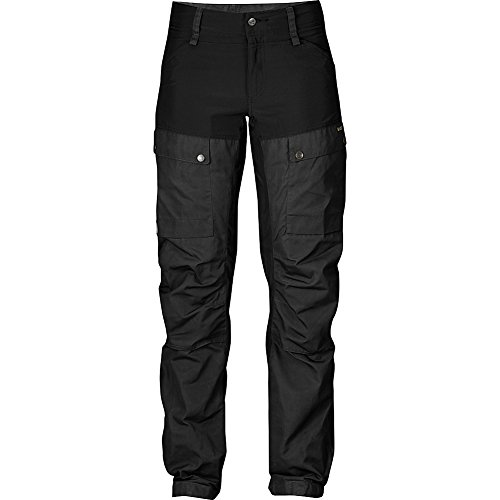 da Donna Pantaloni grey 550 Keb Fjällräven black qgE4a6nw