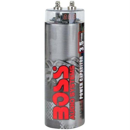 Boss CAP3.5S 3.5 Farad Capacitor (Silver)