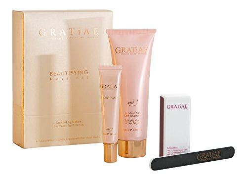 Gratiae Organics Beautifying Nail Kit, Passion Fruit and Lime Fragrance from Gratiae Organics