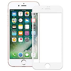 Tempered-Glass Screen Protector For_Apple Iphone S I (White)