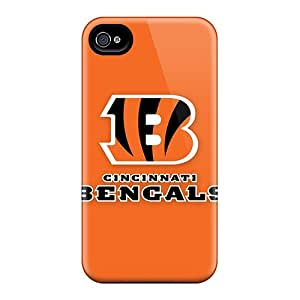 Hot Tpye Cincinnati Bengals 3 Case Cover For Iphone 4/4s