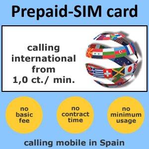 Tarjeta SIM de prepago: Amazon.es: Electrónica