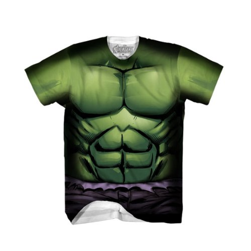 Marvel Comics The Incredible Hulk Performance Athletic Costume T-Shirt