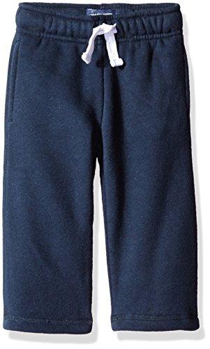 - The Children's Place Baby Boys' Gym Uniform Fleece Pant, New Navy, 12-18 Months