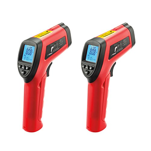 Surface Maverick Thermometer - Maverick LT-04 Infrared Laser Surface Thermometer 2-Pack