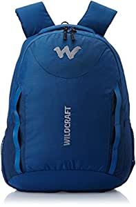 Wildcraft 36 liters Nylon Blue Laptop Bag (8903338046196)