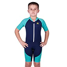 Nozone Boys Ultimate One-Piece Sun Protective UPF 50+ Swimsuit