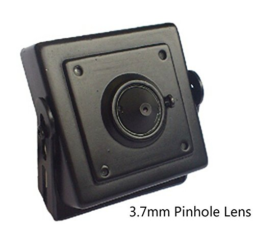 (Mini Hidden Pinhole CMOS HD Box 3.7mm MTV lens 700TVL Security CCTV Color)