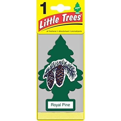 Car Freshener 32001 Little Tree Air Freshener 3 Pack-Royal (Pine Air Freshener)