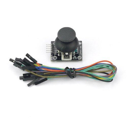 (SainSmart JoyStick Breakout Module Sensor Shield + Free 10 Cables for Robot Arduino UNO 2560 R3 STM32 A072)