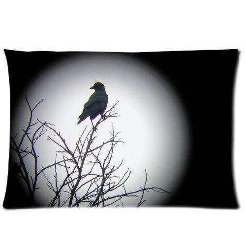 Palm Bolster Pillow - Custom Ocean Theme Summer Beach Palm Tree Soft Zippered Cushion Throw Case Pillow Case 20x30 inch (one side) Best Gift