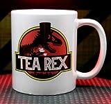 Mug 3D area Tea Rex Jurassic Park T-rex Parody Funny Coffee Mug Tea Cup Double Sided