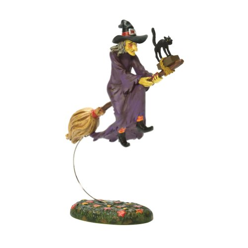 Department 56 Snow Village Halloween Midnight's Last Ride Accessory Figurine -
