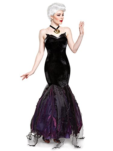 Disguise Women's Plus Size Ursula Prestige Adult Costume, Black, X-Large