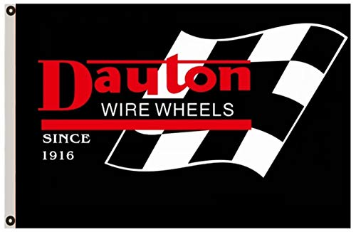- Astany Dayton Wire Wheels Flag Since 1916 3X5FT Banner