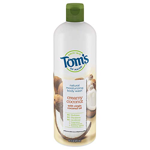 - Tom's of Maine Creamy coconut moisturizing body wash,16 Ounce