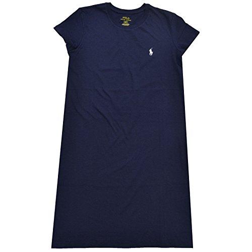 (Polo Ralph Lauren Womens Lightweight Jersey Dress (XL, Blue))