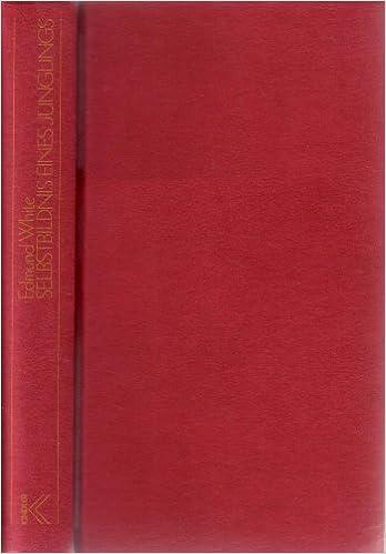 Edmund White: Selbstbildnis eines Jünglings; Homo-Bücher alphabetisch nach Titeln