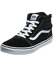 Vans Unisex Ward Hi Classic Suede/Canvas Sneakers voor kinderen