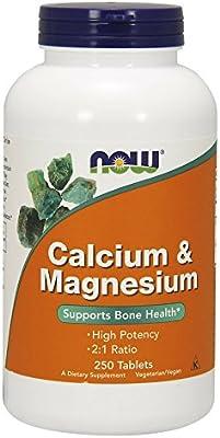 Now Supplements, Calcium & Magnesium, 250 Tablets